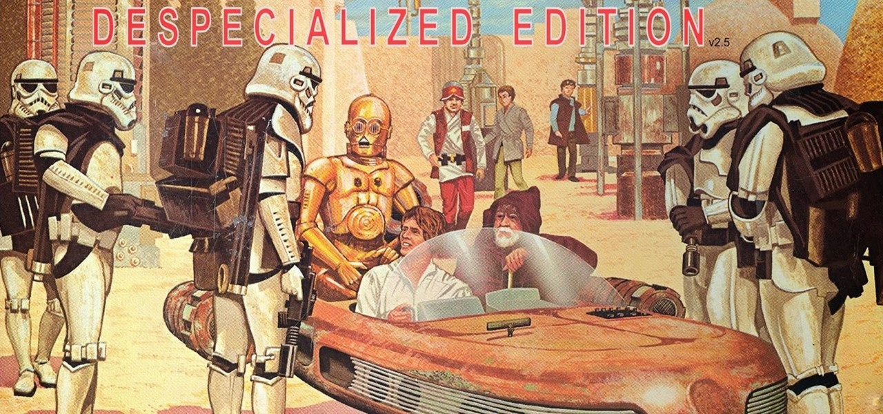 despecialized edition star wars